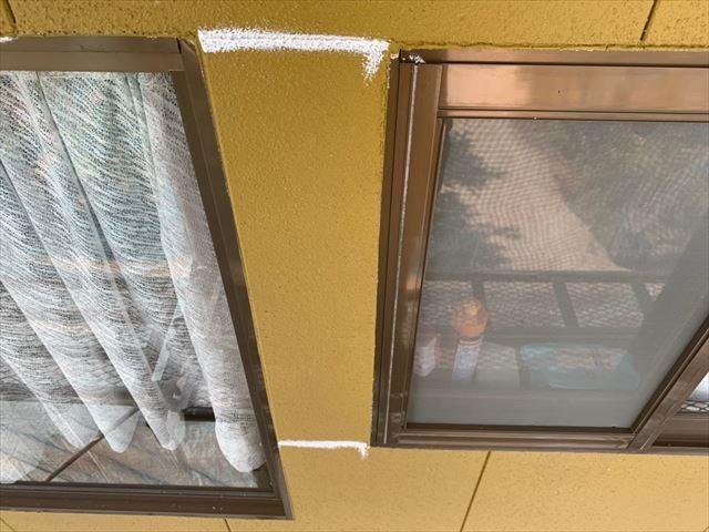 瑞浪市で外壁のコーキング完了