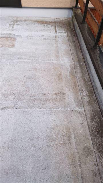 瑞浪市でベランダ簡易防水工事