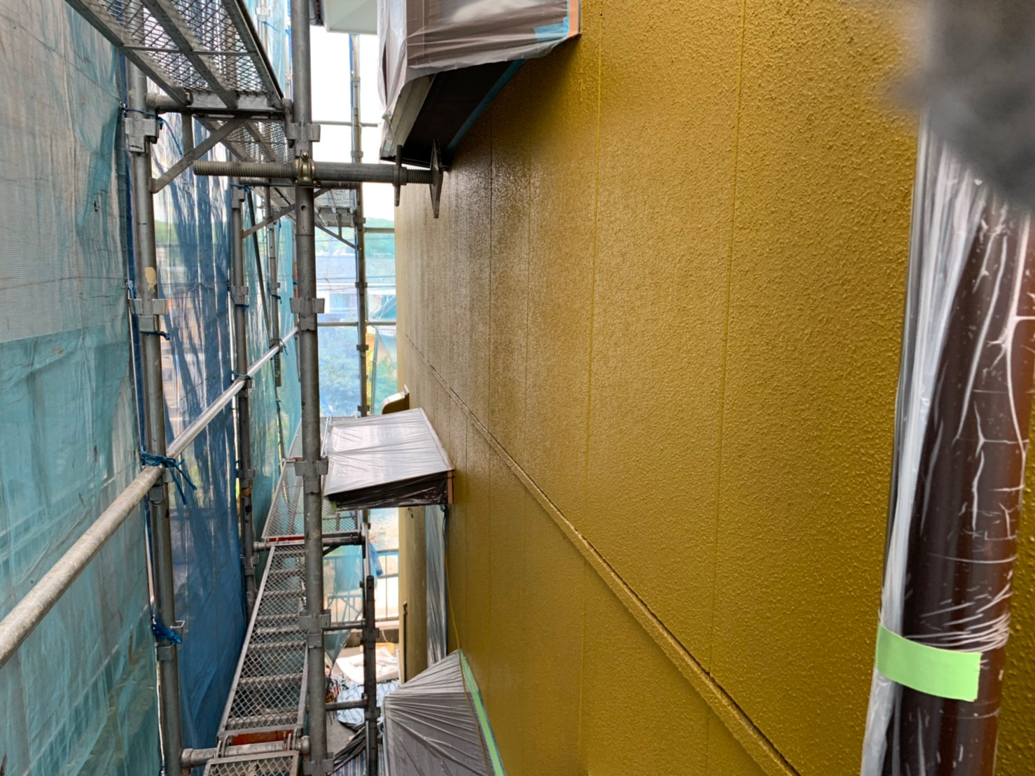 瑞浪市 外壁下塗り塗装 シーラー