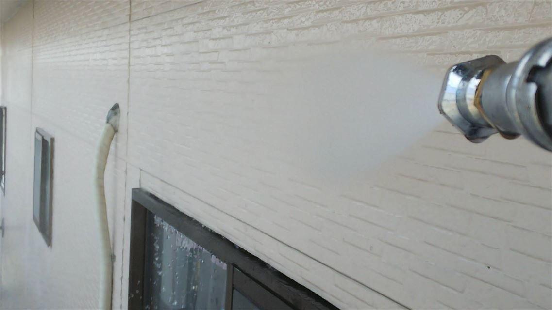 土岐市下石町外壁バイオ洗浄