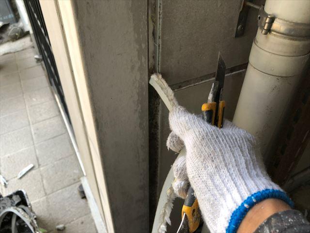瑞浪市で屋根外壁塗装、目地打ち替え目地撤去