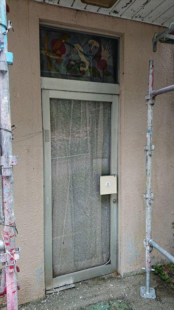 恵那市外壁塗装高圧水洗浄完了