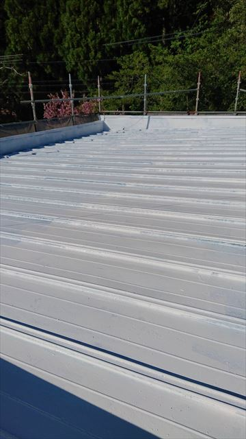 恵那市屋根塗装