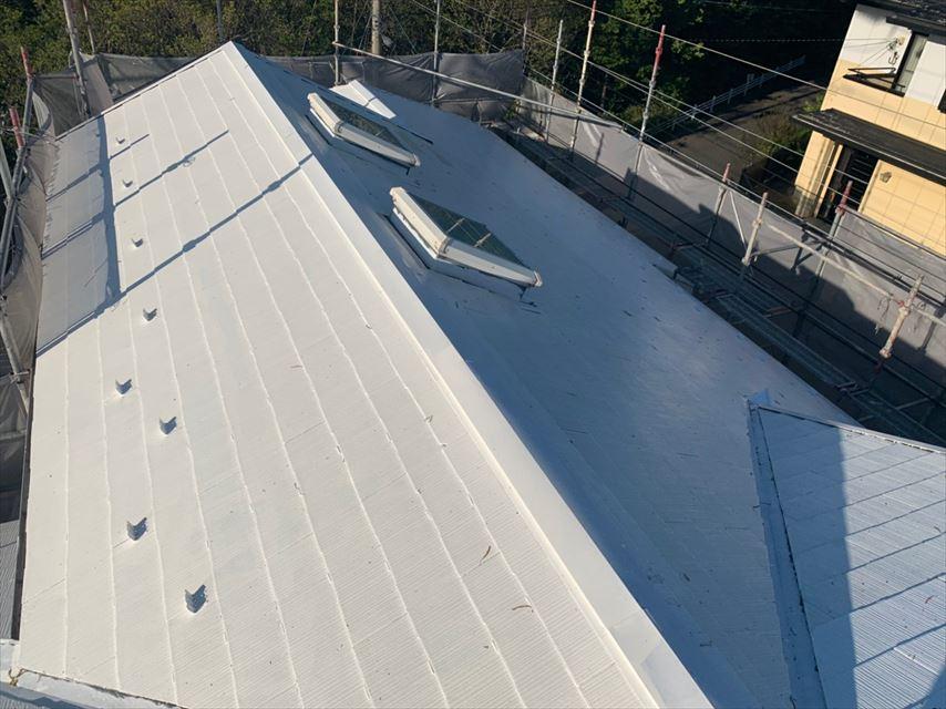 多治見市コロニアル屋根塗り替え