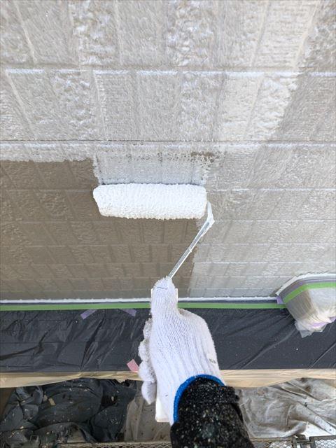 恵那市外壁塗装下塗り