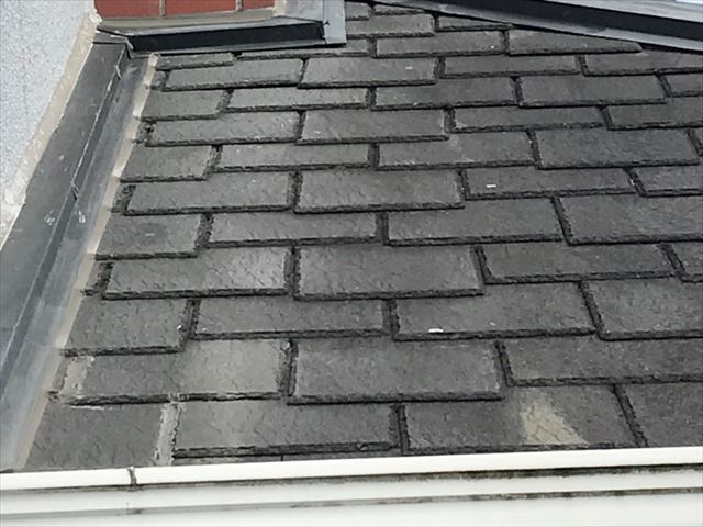 下屋根の劣化状態