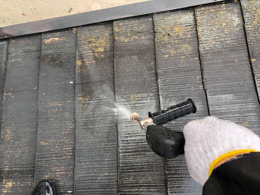 多治見市希望ヶ丘屋根苔洗浄