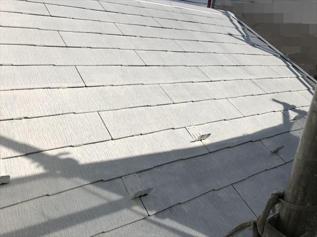 恵那市大井町屋根下塗り塗装完成