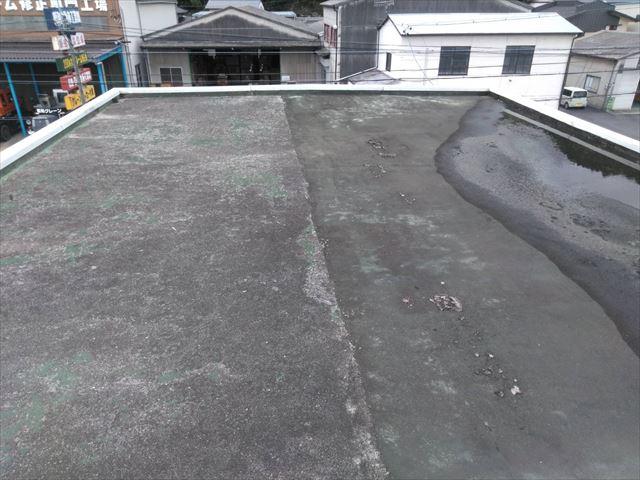 既存の屋上です