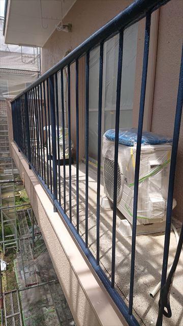 恵那市で外壁塗装 柵塗装