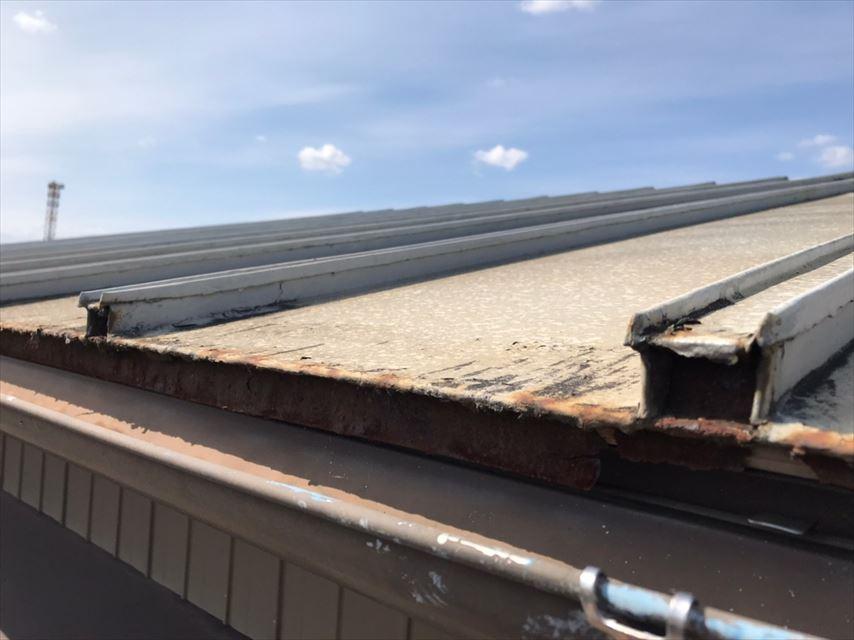 美濃加茂市 瓦棒屋根(心木なし)