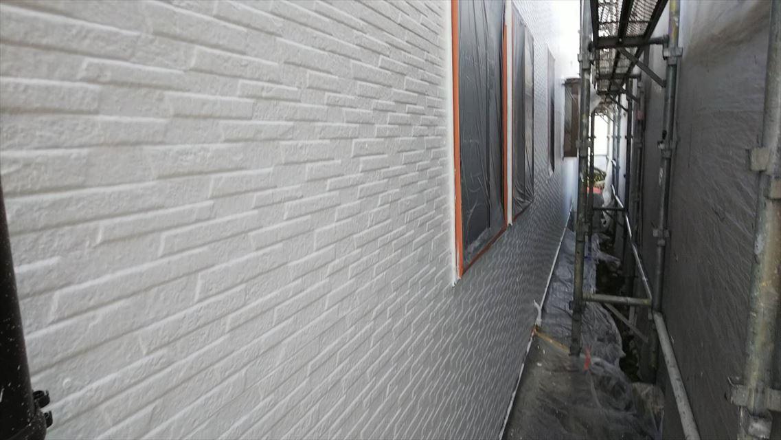 土岐市下石町外壁上塗り