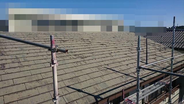 恵那市で屋根葺き替え工事