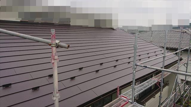 恵那市で屋根葺き替え工事完了