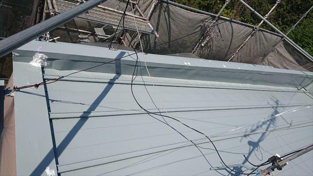 恵那市で屋根塗装