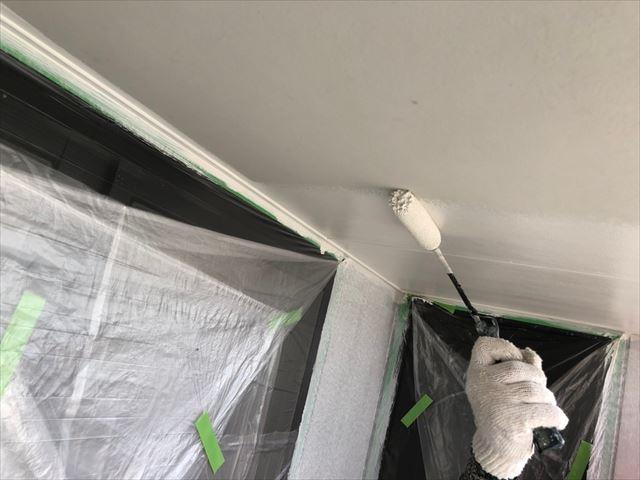 瑞浪市で屋根外壁塗装、軒天塗装