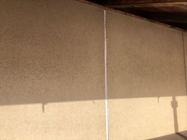 恵那市長島町で外壁コーキング
