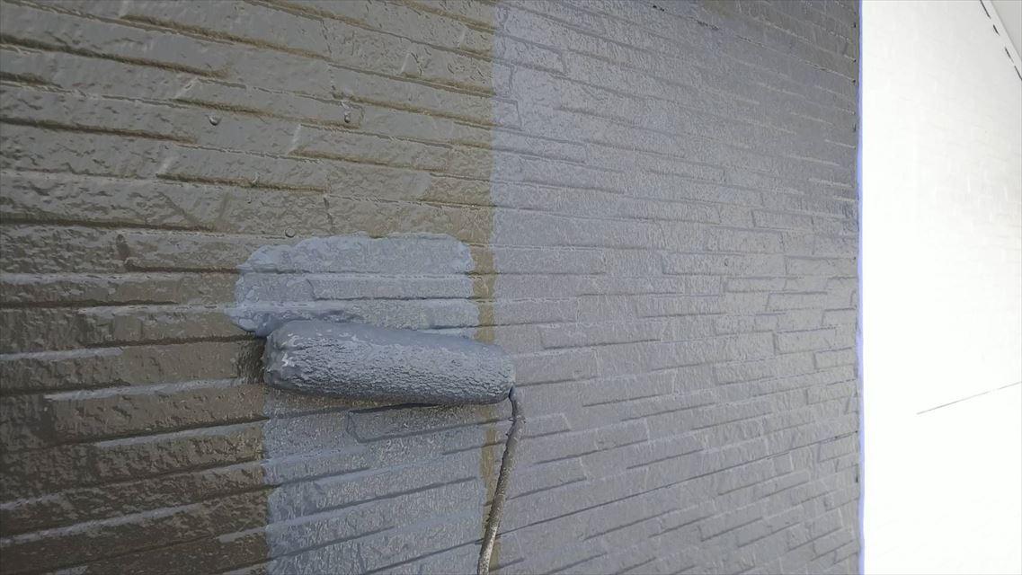 土岐市下石町外壁2トーン塗り替え