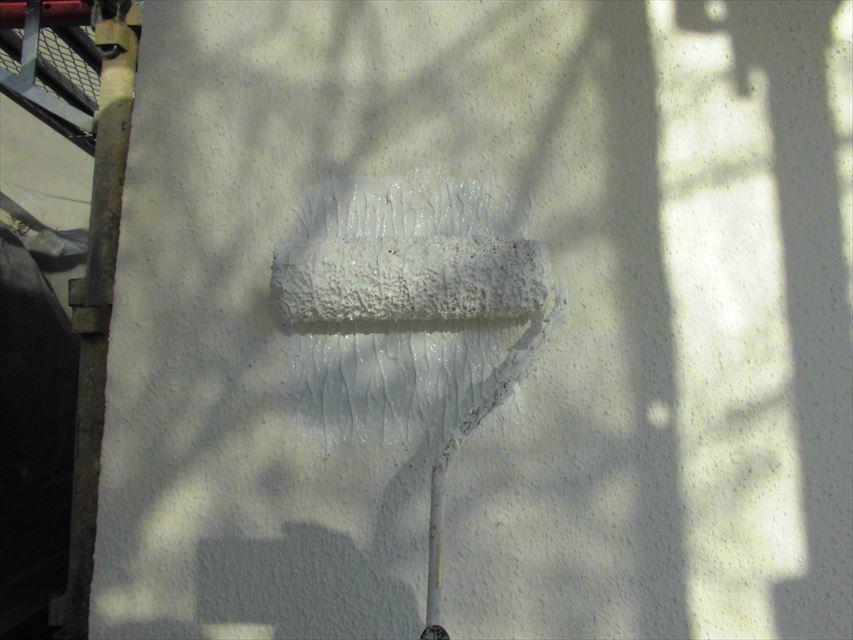 可児市外壁下塗り