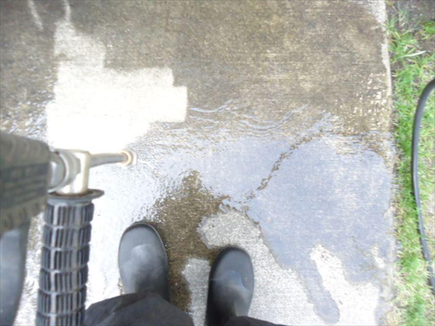可児市玄関アプローチバイオ洗浄