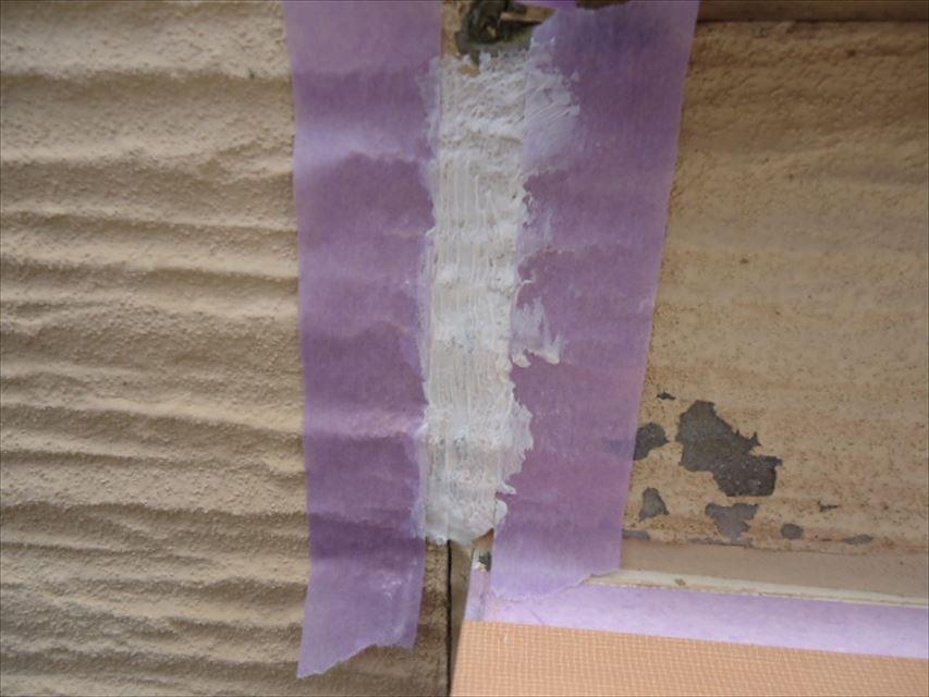 多治見市外壁マスキングテープ