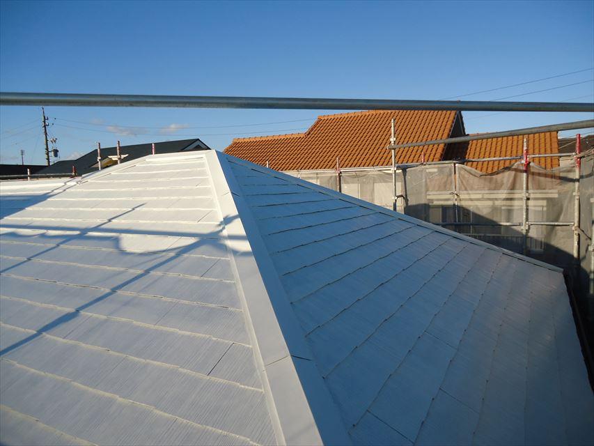 多治見市屋根塗り替え