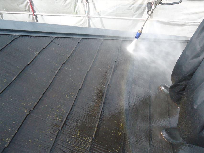 可児市屋根バイオ洗浄