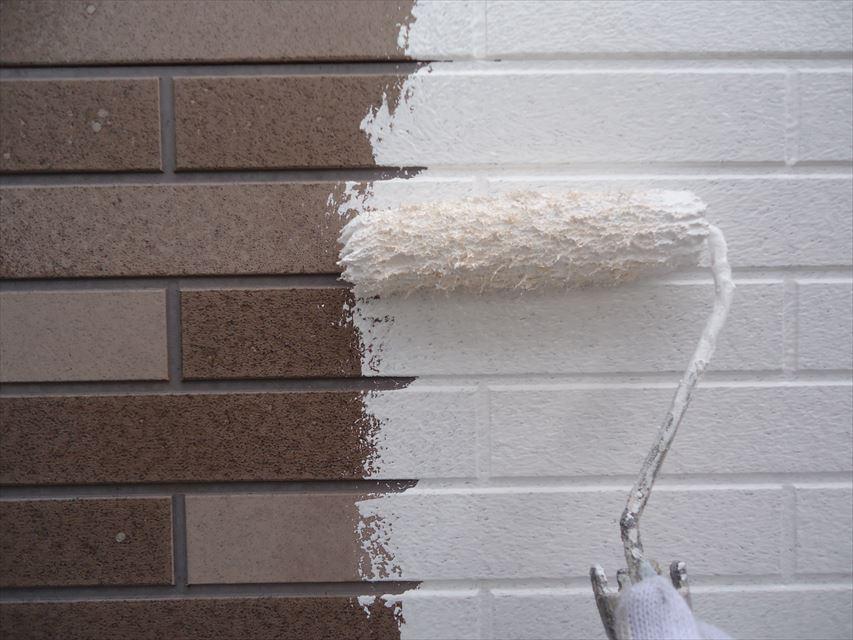 多治見市外壁下塗り