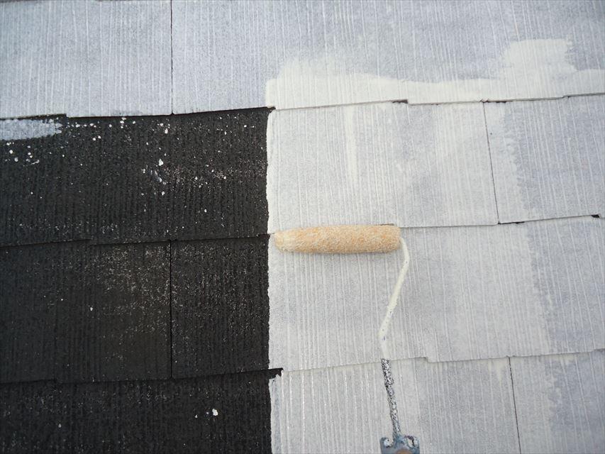 多治見市屋根下塗り