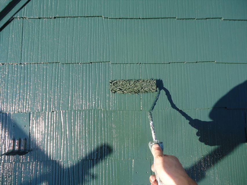 多治見市屋根フッ素塗り替え