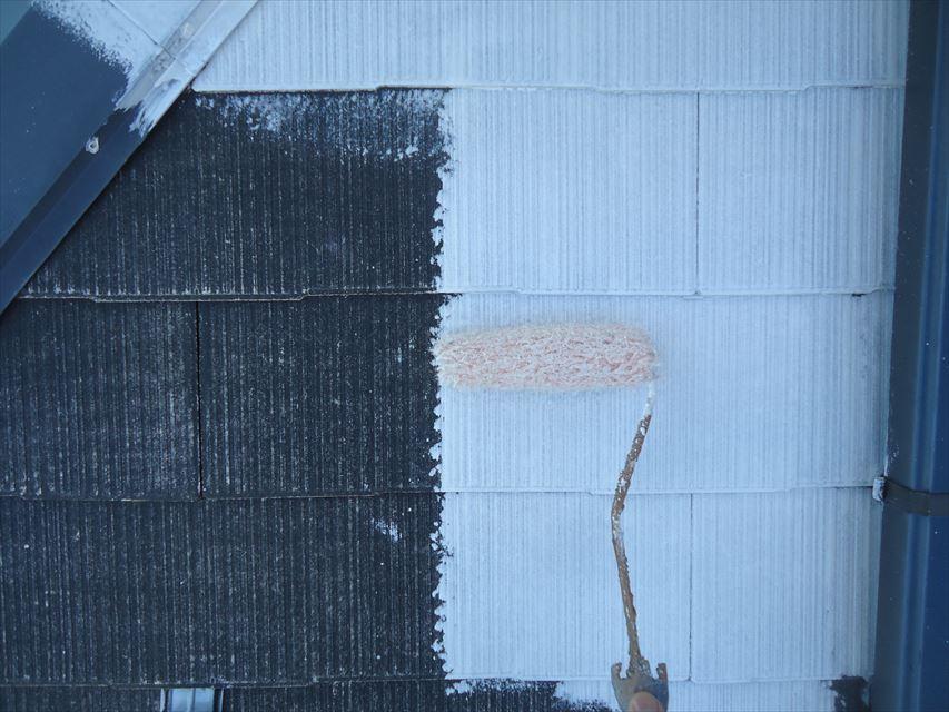 土岐市屋根下塗り