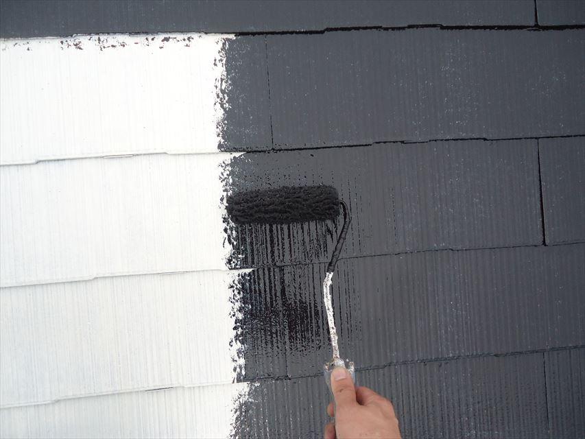 可児市スレート屋根遮熱塗料