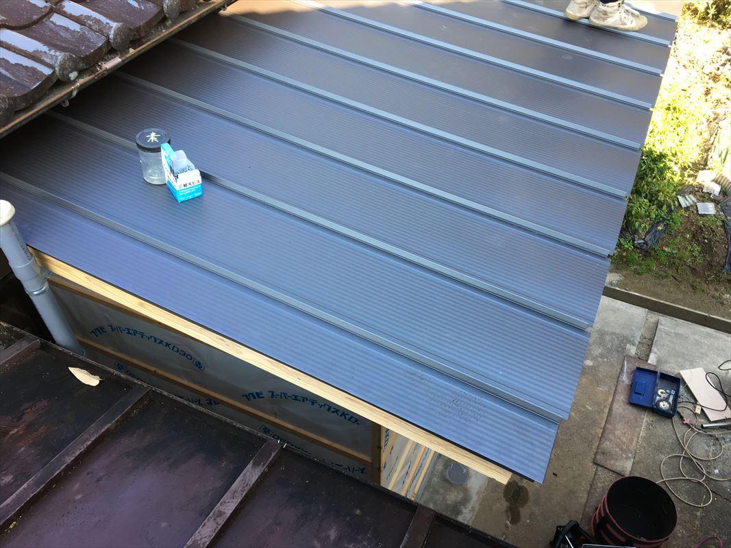 多治見 土岐 屋根の交換 屋根の葺き替え 金属系の屋根