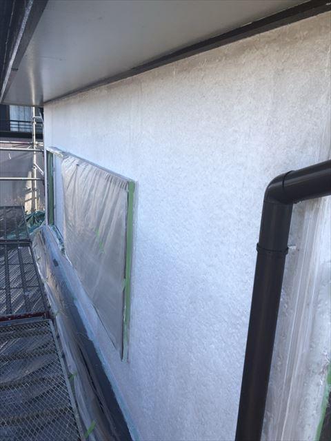 可児桜ヶ丘林外壁下塗り2