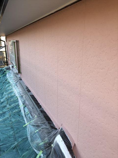 可児桜ヶ丘林外壁上塗り