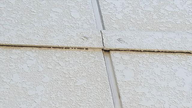 外壁の幕板の汚れ