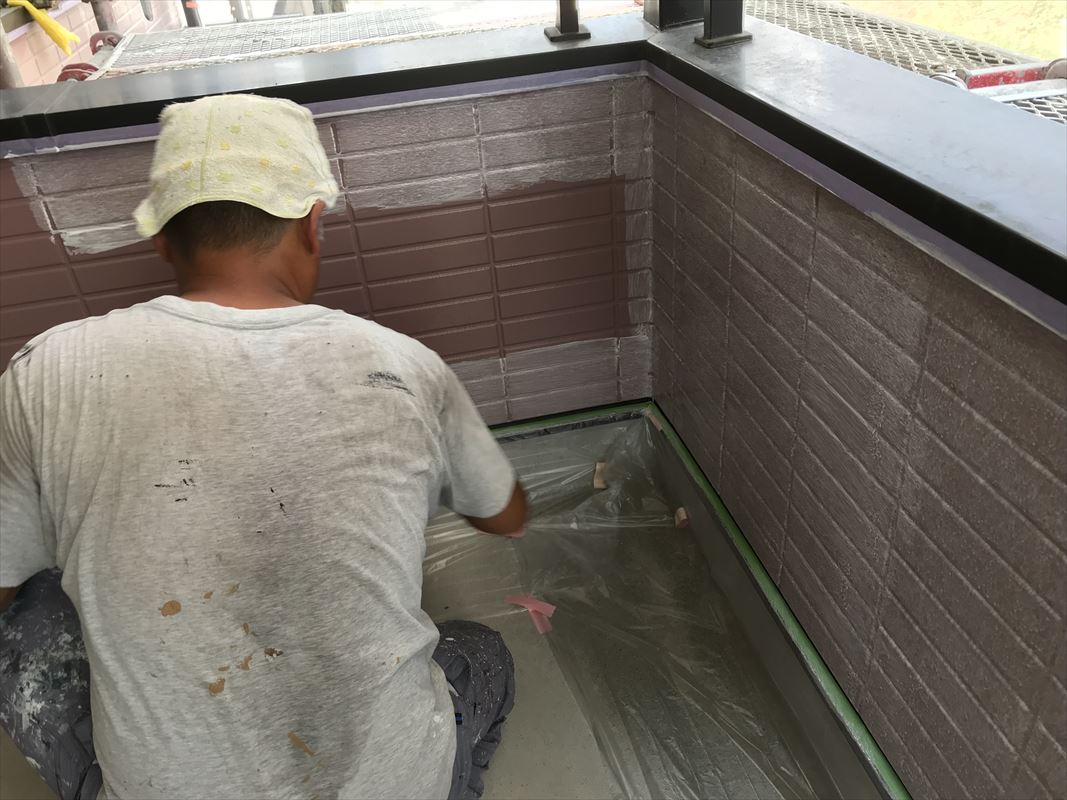 多治見 土岐 サイディング下塗り シーラー 下地処理