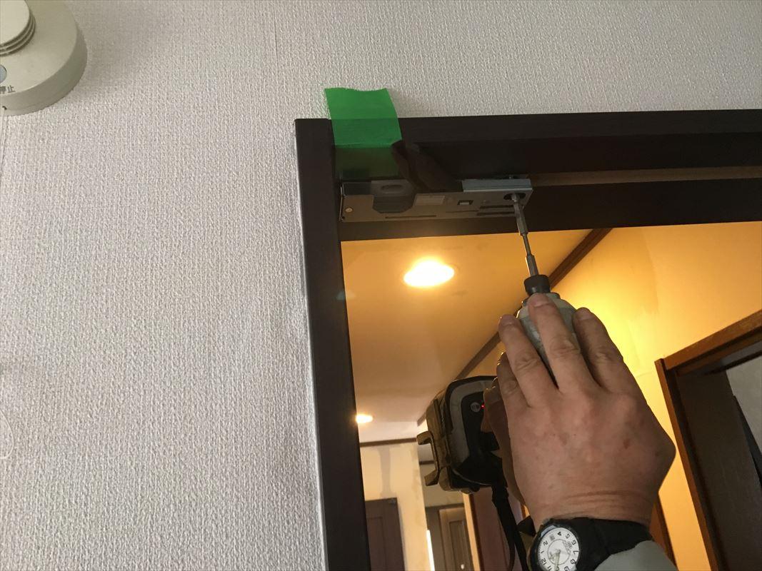 多治見市 内装リフォーム ドアの交換 建具の交換