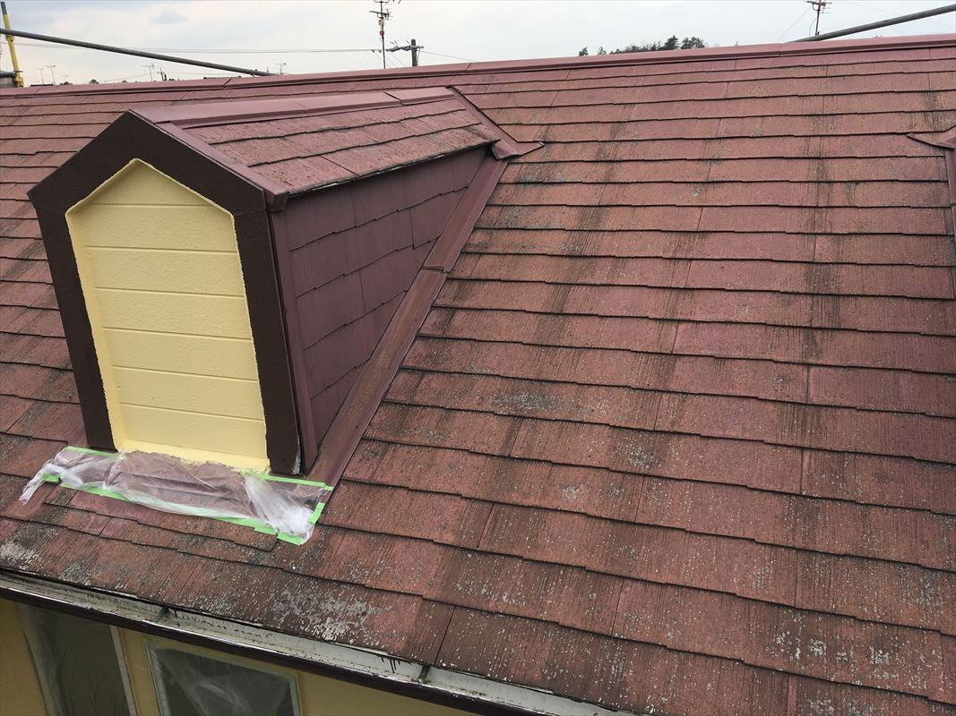 多治見市 屋根塗り替え 屋根の塗装