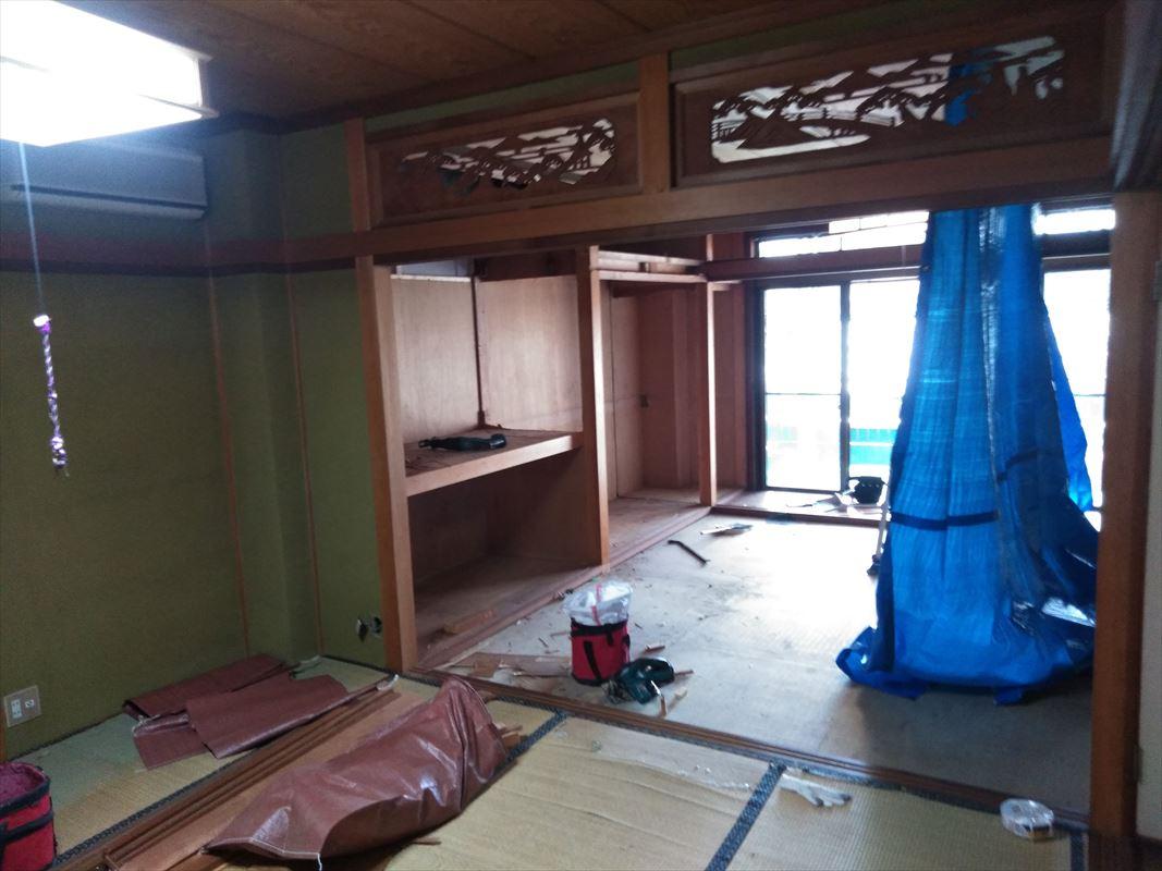 多治見 土岐 和室リフォーム 洋室に変更