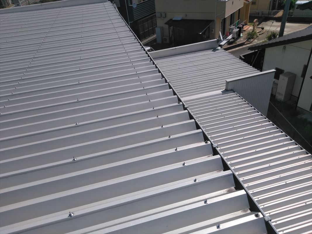 可児 屋根板金 ガルバ 屋根塗装