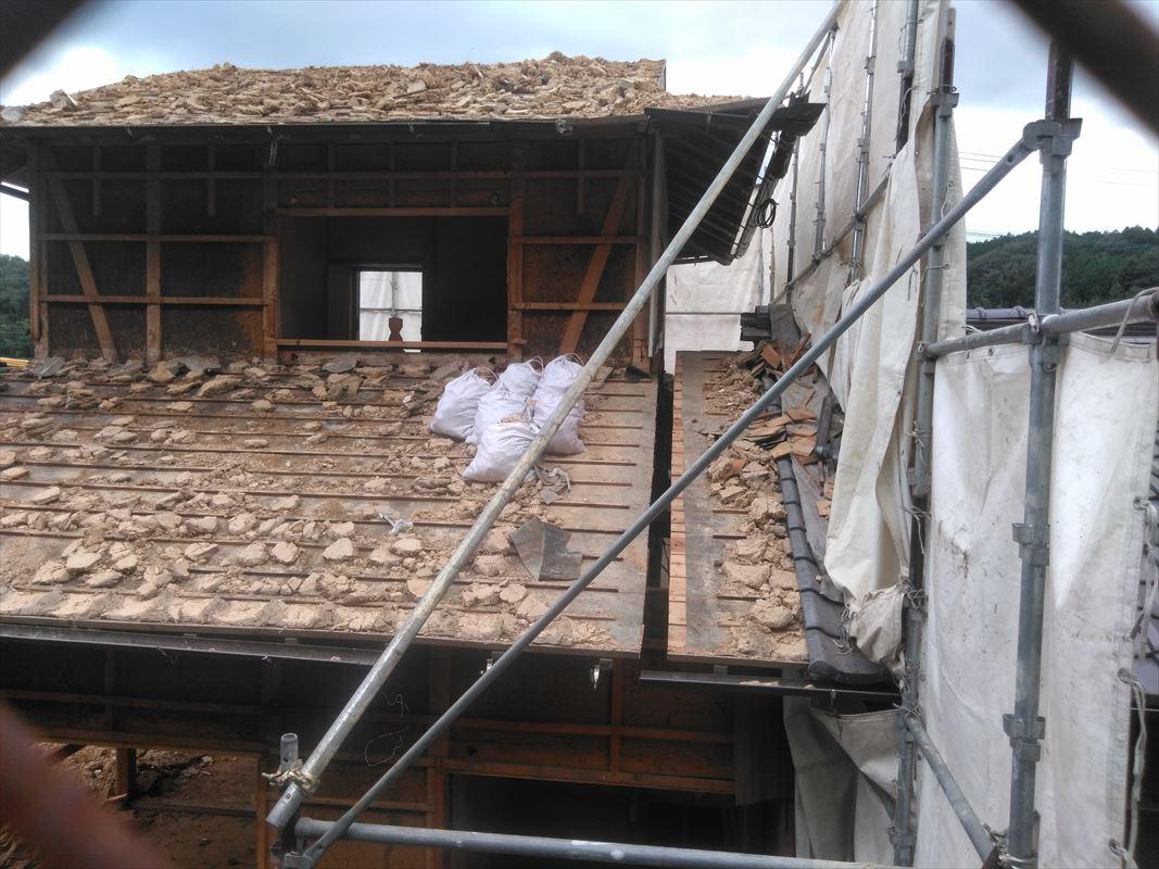 多治見 瑞浪 屋根工事 解体 屋根めくり