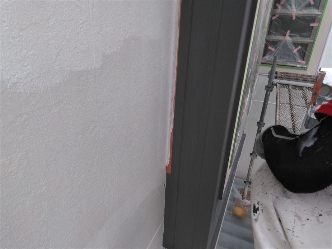 多治見で一番塗っている 断熱塗料ガイナ 上手にガイナを塗ります