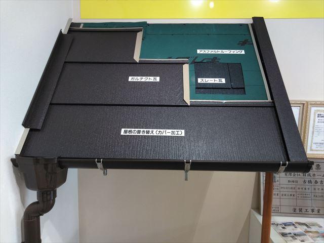 ショールーム 屋根模型
