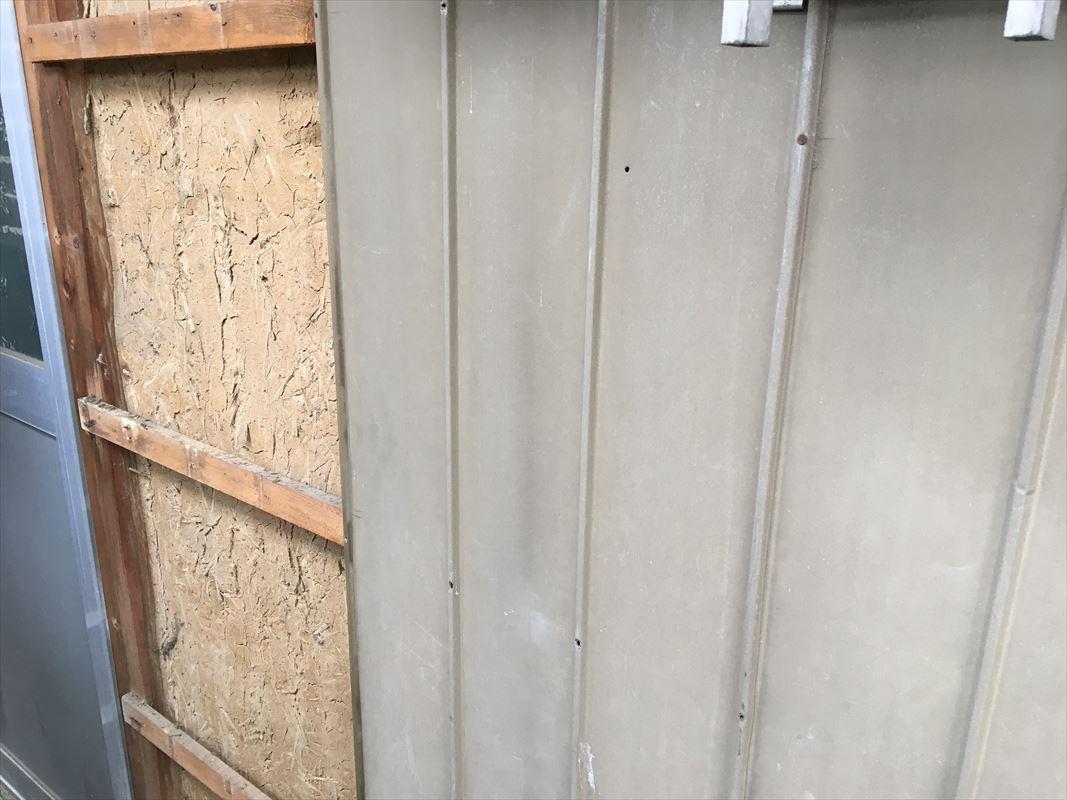 多治見市 トタンの張り替え 板金工事 外壁の張り替え
