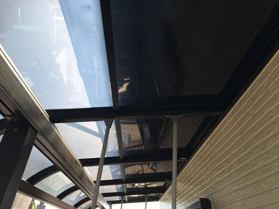 土岐市 外壁塗装 テラスの取り付け