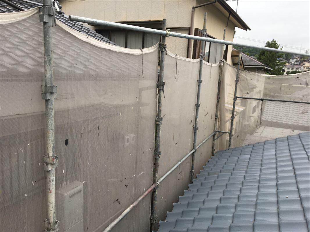 多治見市 外壁補修 台風被害