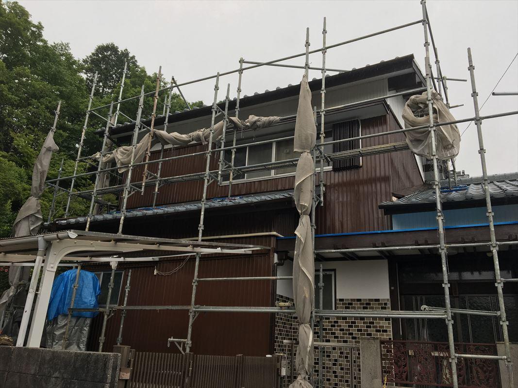 多治見市 外壁塗装 台風に備えてリフォーム