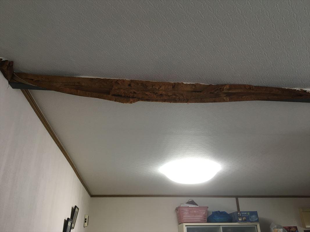 多治見市 台風による雨漏り 雨漏り補修 お家の点検