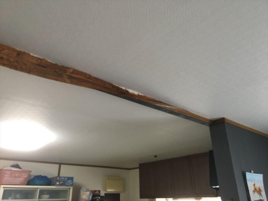 多治見市 お家の台風被害 雨漏り補修